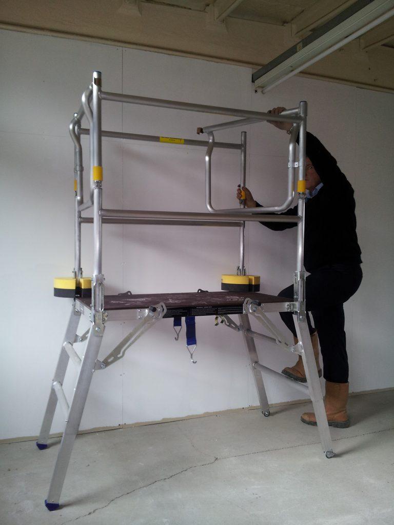 Safety Platforms Ltd Export Deltadeck Low Level Work