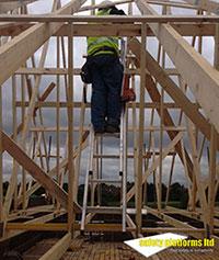roof truss ladder