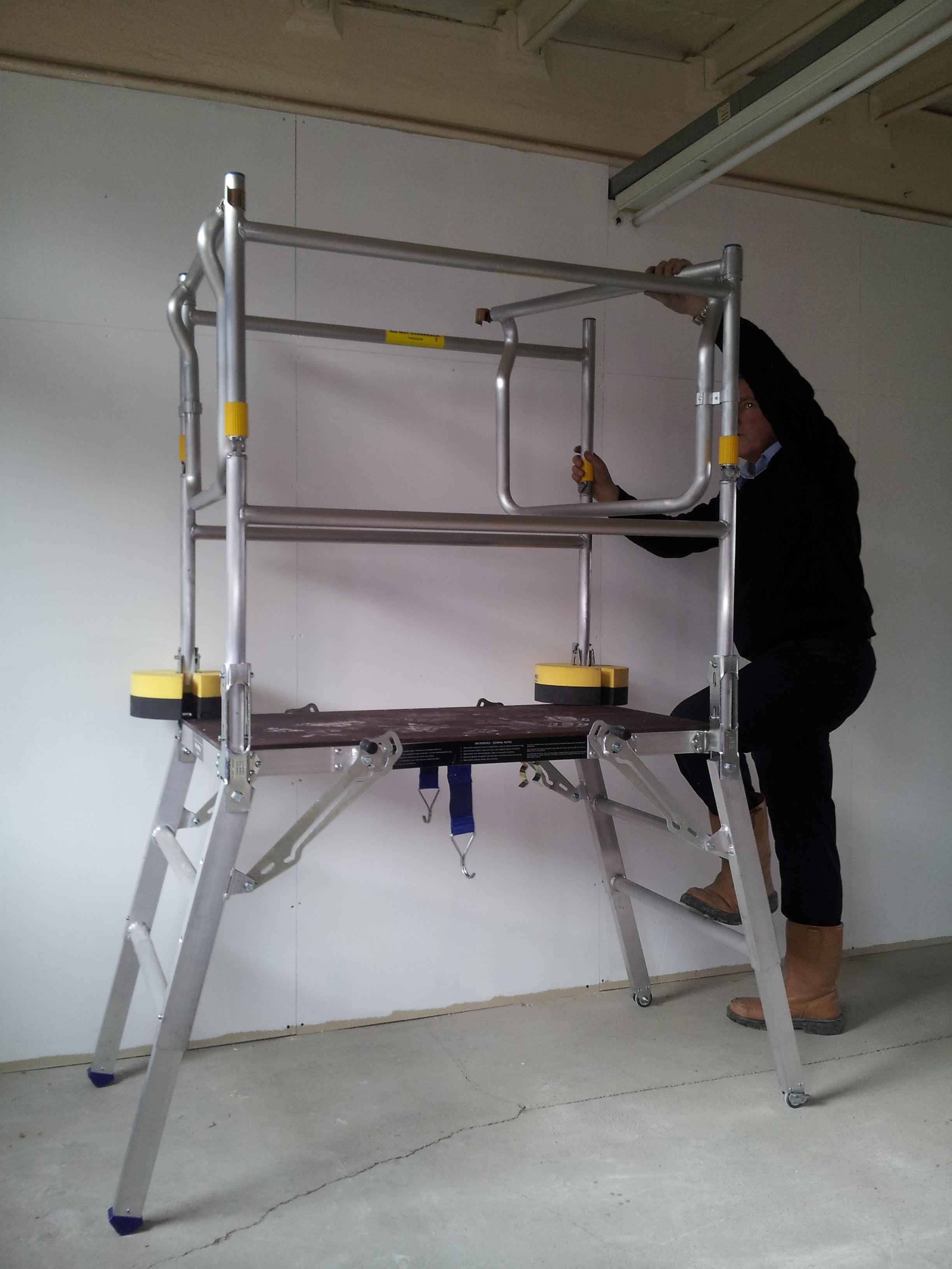Deltadeck access platform safety platforms for Balcony platform