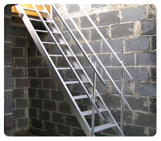 Temporary Staircase