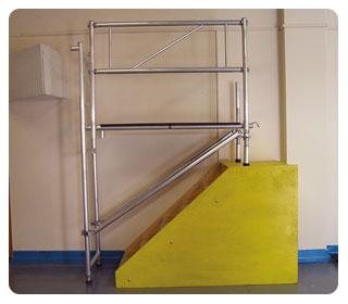 stairwell-platform