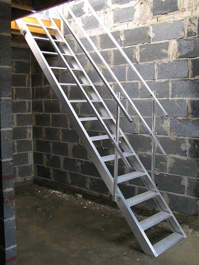 Temporary Staircase Easy Stair Safety Platforms