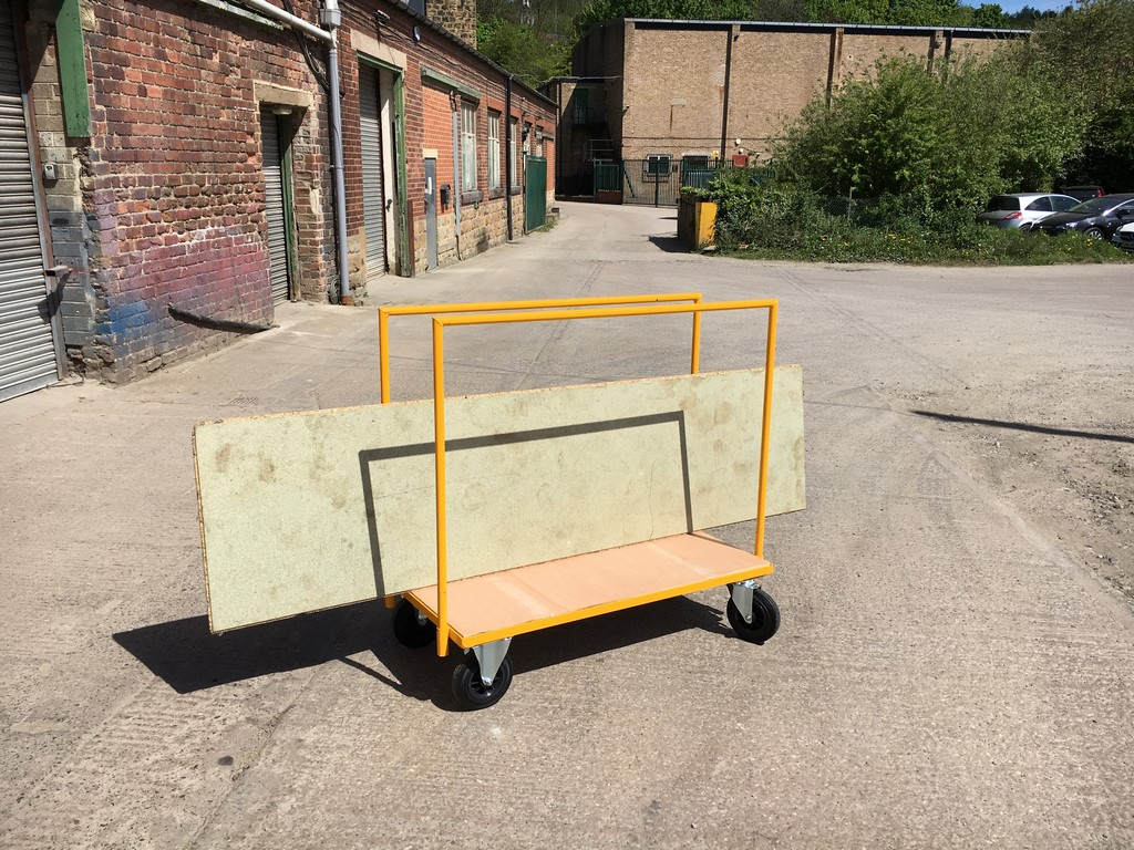 Cheap plasterboard trolley