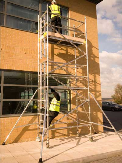 Aluminum Scaffold Tower : Aluminium tower scaffold m safety platforms