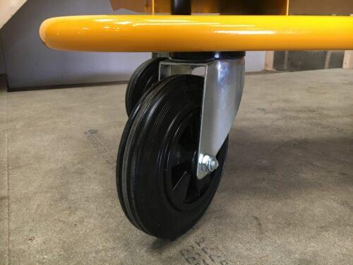 Plasterboard trolley wheel
