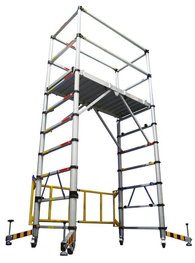 Teletower Telescopic Mobile Scaffold Tower With 4m Working