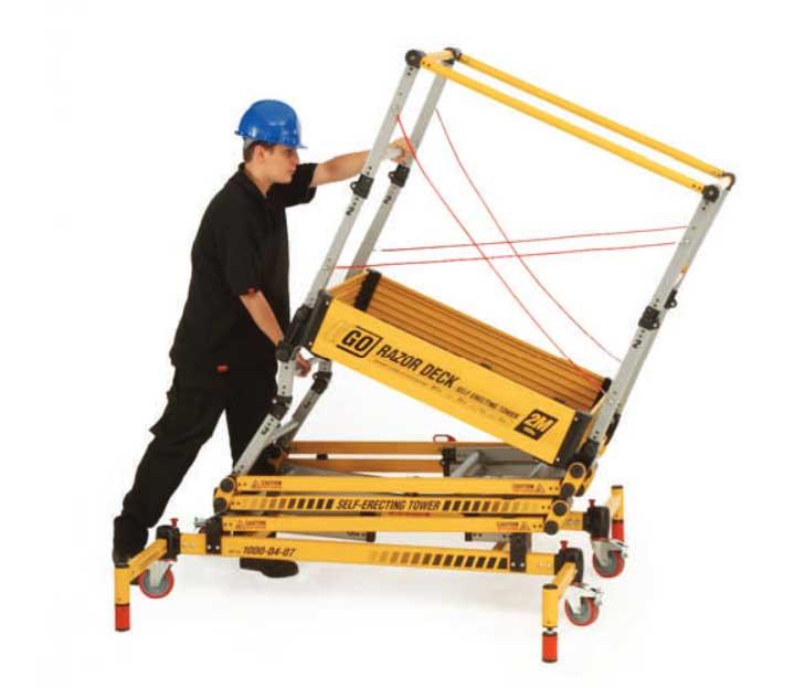 Razordeck Safety Platforms