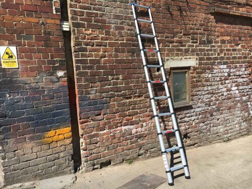Zarges telescopic ladder