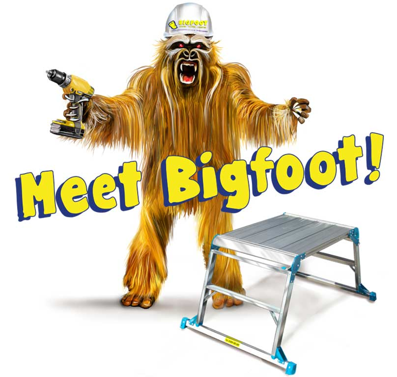 Bigfoot work platform
