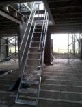 Temporary staircase hire