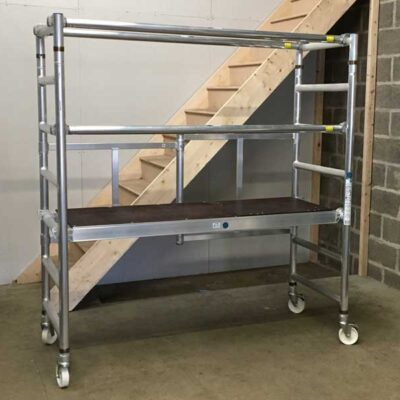 Folding scaffold tower 0.9m platform height