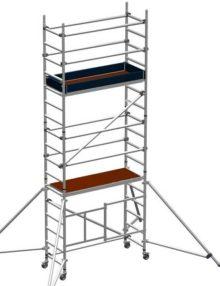 Folding scaffold tower 3.7m platform height