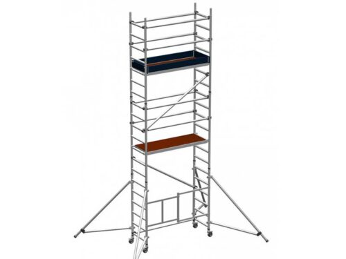 Folding scaffold tower 4.5m platform height