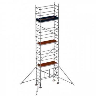 Folding scaffold tower 5.8m platform height