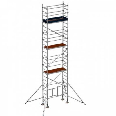 Folding scaffold tower 6.5m platform height