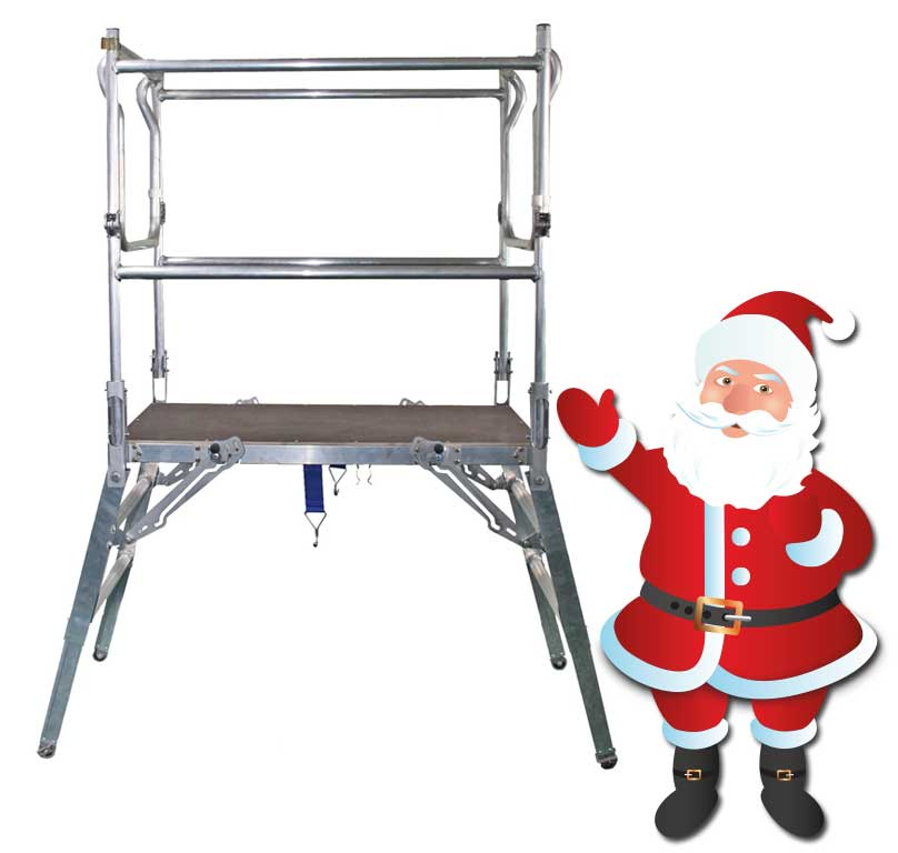 Xmas deltadeck safety platforms for Decking special offers