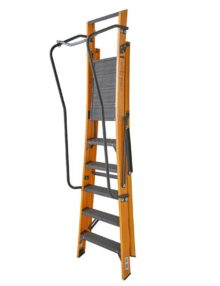 6 step ladder with chain