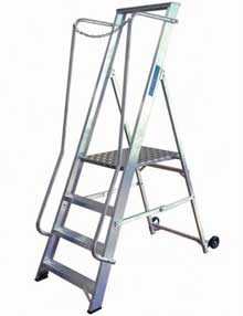 Wide Step Ladders