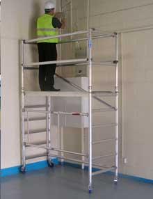 1.6m folding scaffold towers
