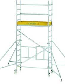 2.5m folding scaffold towers