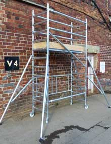 3.1m scaffold towers
