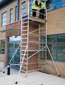 4.6m folding scaffolds