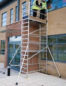 3.6m folding scaffolds
