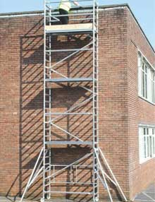 5.1m folding scaffolds