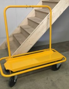 Used plasterboard trolley