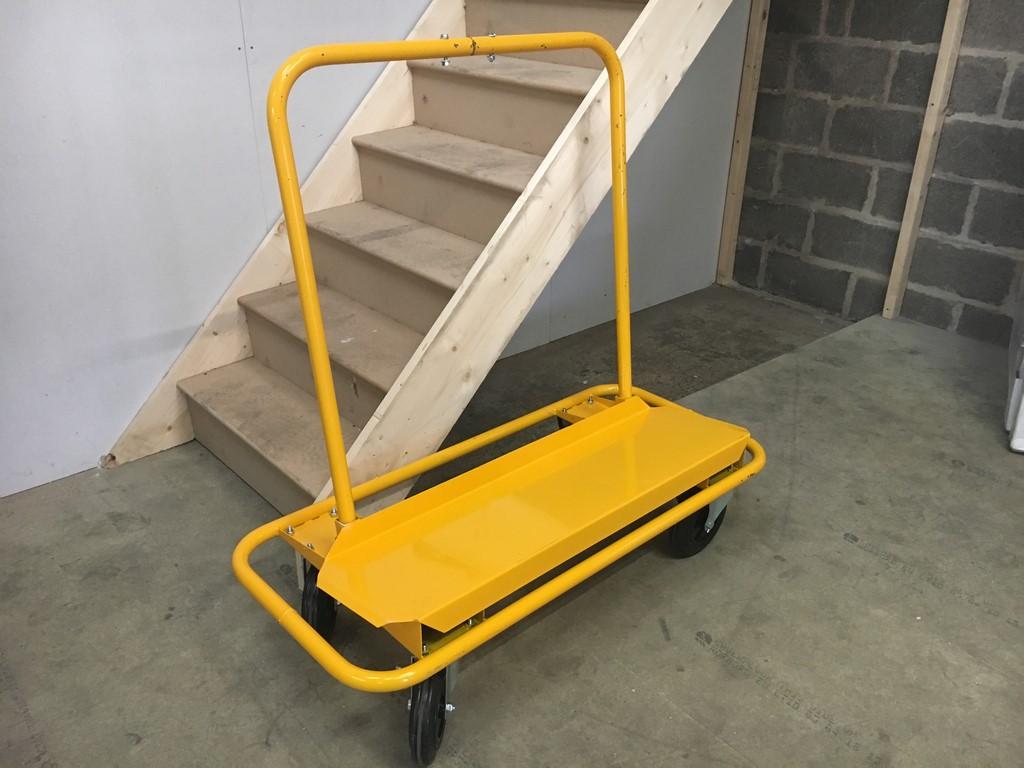 plasterers board trolley