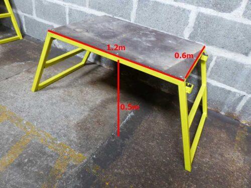 bricklayers work platform