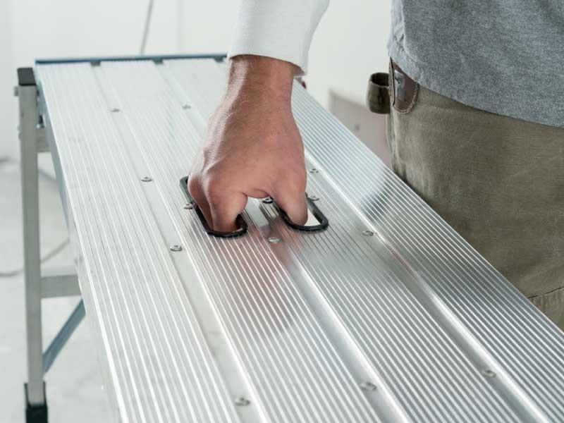Youngman pro folding platform